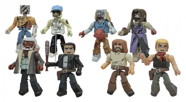 minimates walking dead