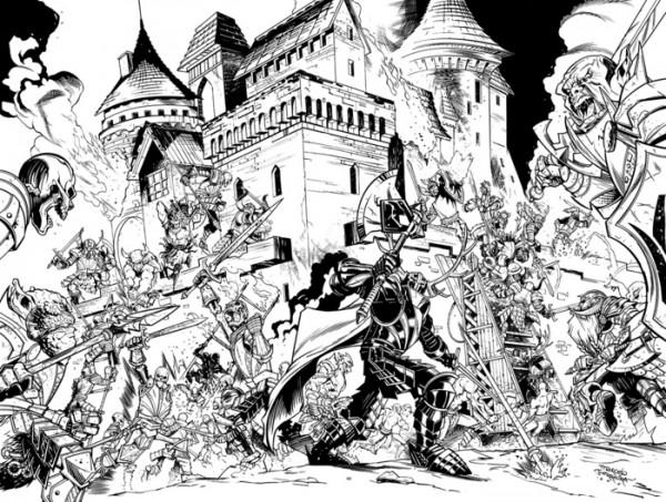 mythic legions comic