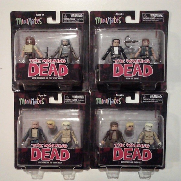 packaging walking dead minimates series 7 dst