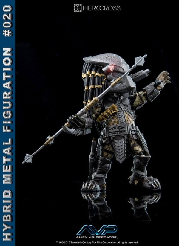 Hybrid Metal Figuration AVP Scar Predator by Herocross