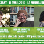 Agenda : Concert PRESS START – Symphony of Games, le 11 avril à Paris