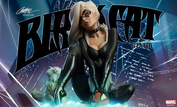 J. Scott Campbell Black Cat Statue Preview