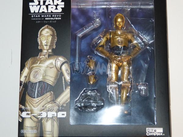 revo C-3PO revoltech kaiyodo star wars 1