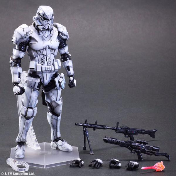Variant Play Arts Kai - Star Wars: Stormtrooper.
