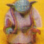 #vswv Yoda Meccano retour du Jedi 65 back