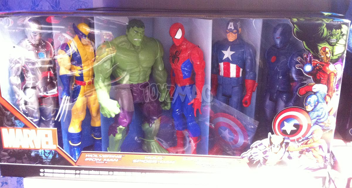figurine hulk auchan