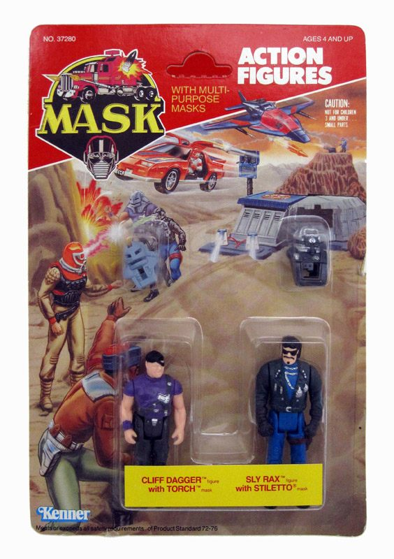 MASK BLISTER  - Sly Rax