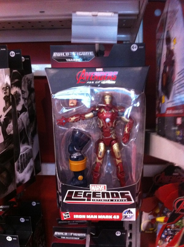 Marvel Legends - BAF Thanos Iron Man marrk 43