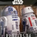 Star Wars Model Kit : review R2-D2 & R5-D4