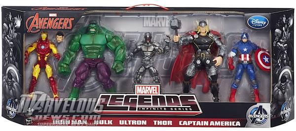 age of ultron marvel legends 5pack