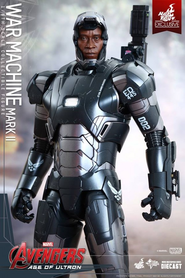 avengers war machine hot toys 2