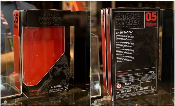 nouveau packaging black series SW