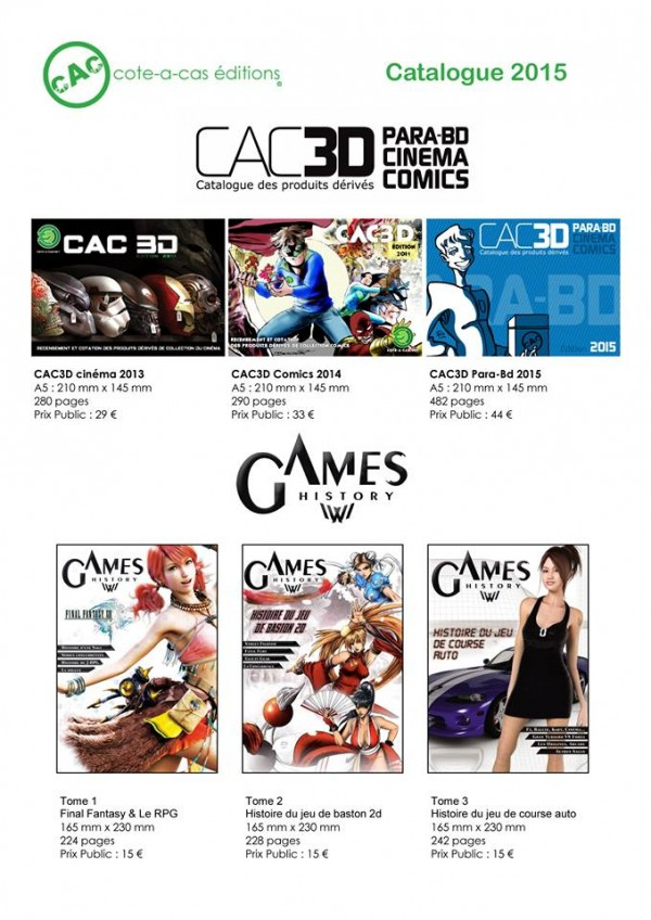 cac édition games history
