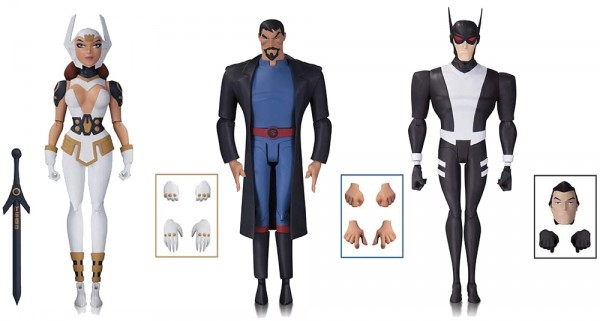 JUSTICE LEAGUE: GODS AND MONSTERS: BATMAN, SUPERMAN AND WONDER WOMAN ACTION FIGURES