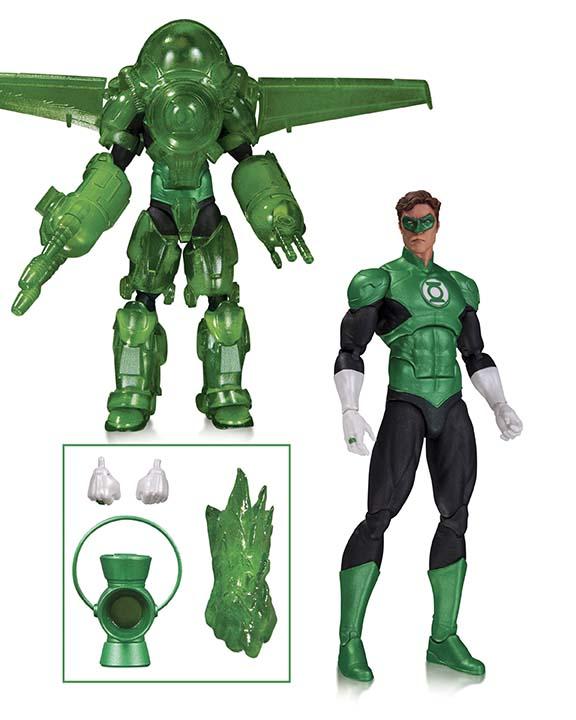 DC COMICS ICONS: GREEN LANTERN HAL JORDAN DELUXE ACTION FIGURE