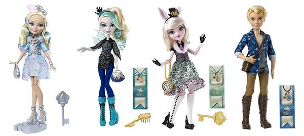 poupées ever after high 2015