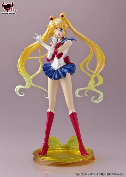 figuartsZero sailor moon cristal