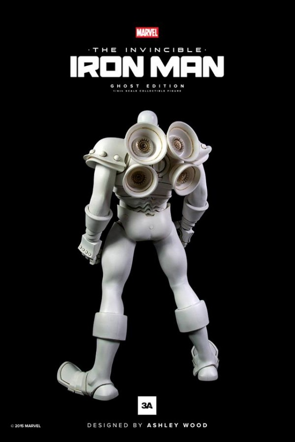 The Invincible Iron Man: Ghost Edition par ThreeA