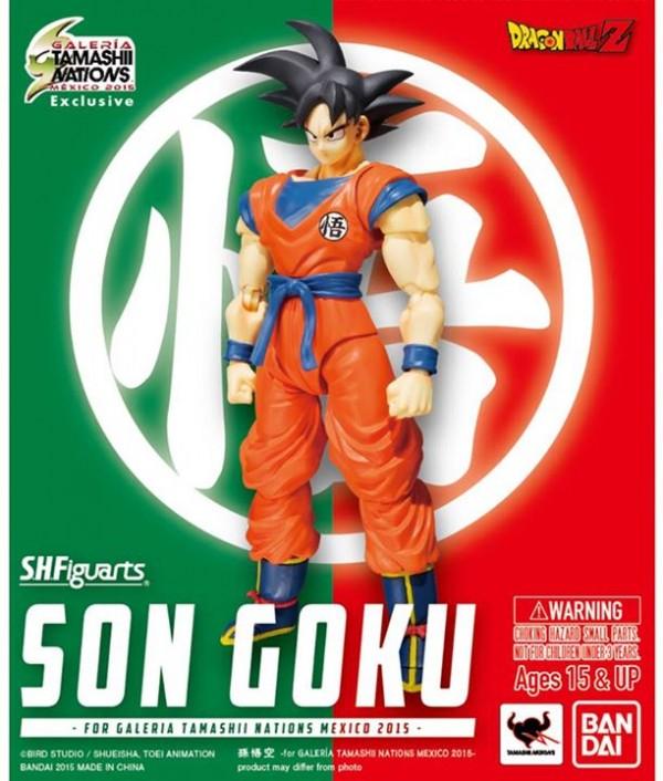 S.H.Figuarts Son Goku exclu Mexico