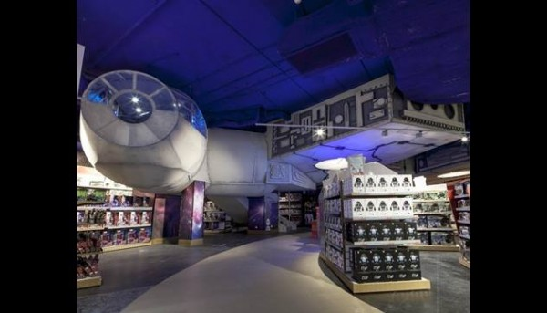 hamley Moscou star wars