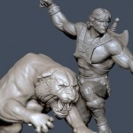 Battle Cat statue par Pop Culture Shock Toys