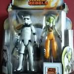 Star Wars Rebels : Review Hera & Stormtrooper Commander (MS19)