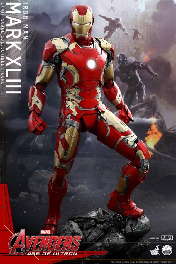 Avengers: AOU 1/4th scale Mark XLIII Collectible Figure