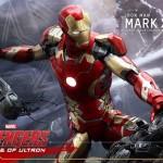 Avengers AOU Iron Man Mark XLIII à l'echelle 1/4e