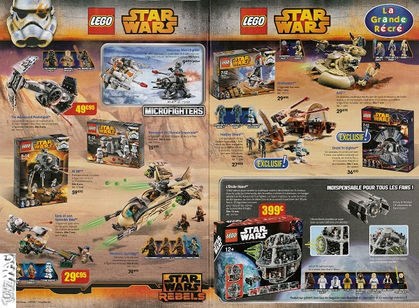 lego grande recre star wars