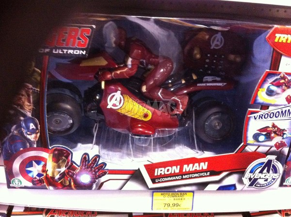 Iron Man : U Commad Motorcycle
