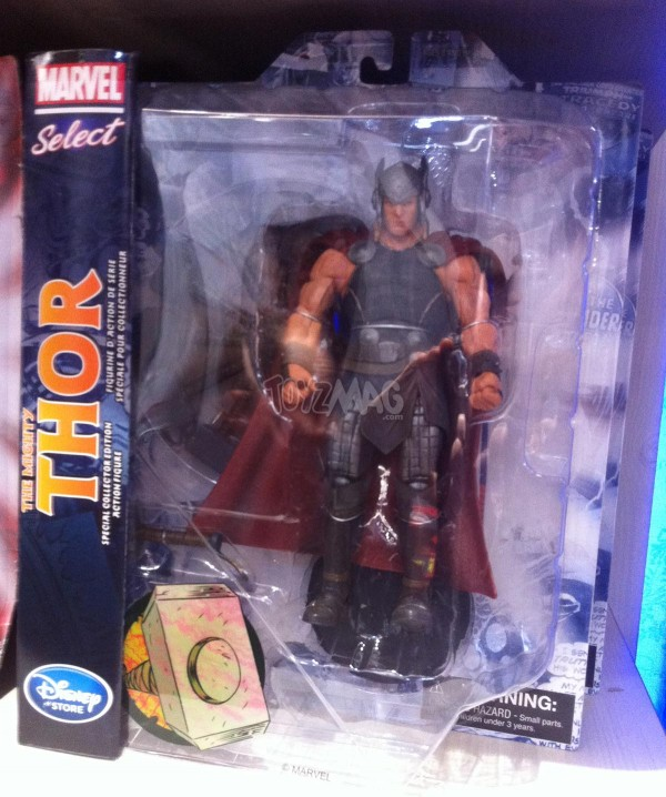 marvel Select Thor exclu Disney store