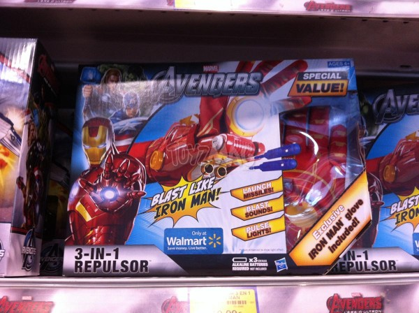 mavel avengers role play ironman exclu walmart