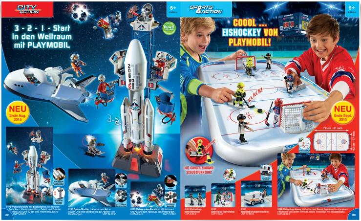 playmobil catalogue le retour des playmospace