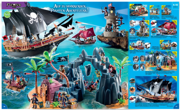 playmo catalogue allemand 2015 pirates 1