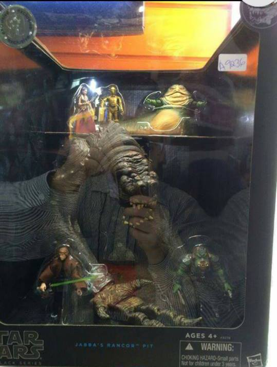 Star Wars Black Series – Jabba's Rancor Pit Battle Pack