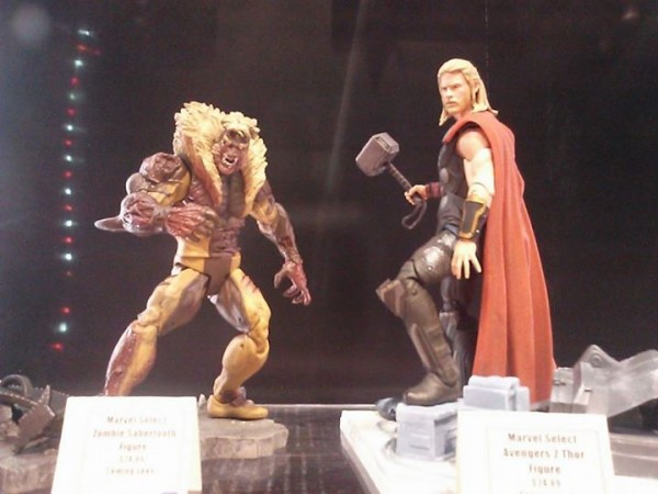 Zombie Sabretooth and Avengers: Age of Ultron Thor
