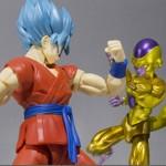 Son Goku Super Saiyan God Super Saiyan les images de la S.H.Figuarts