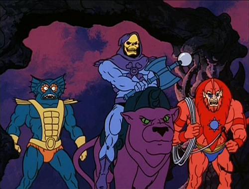 Panthor et Skeletor