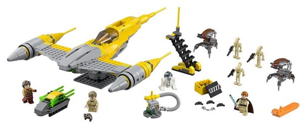 75092 Naboo Starfighter LEGO Star Wars