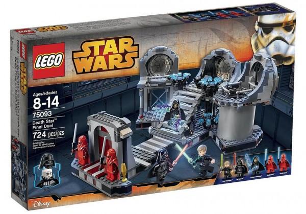 75093 Le duel final de l'Etoile de la Mort LEGO Star Wars
