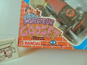INSPECTEUR GADGET Madmobile Boîte  (7)