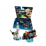 LEGO Dimensions des nouveaux Packs : Retour vers le Futur, DC et Ninjago
