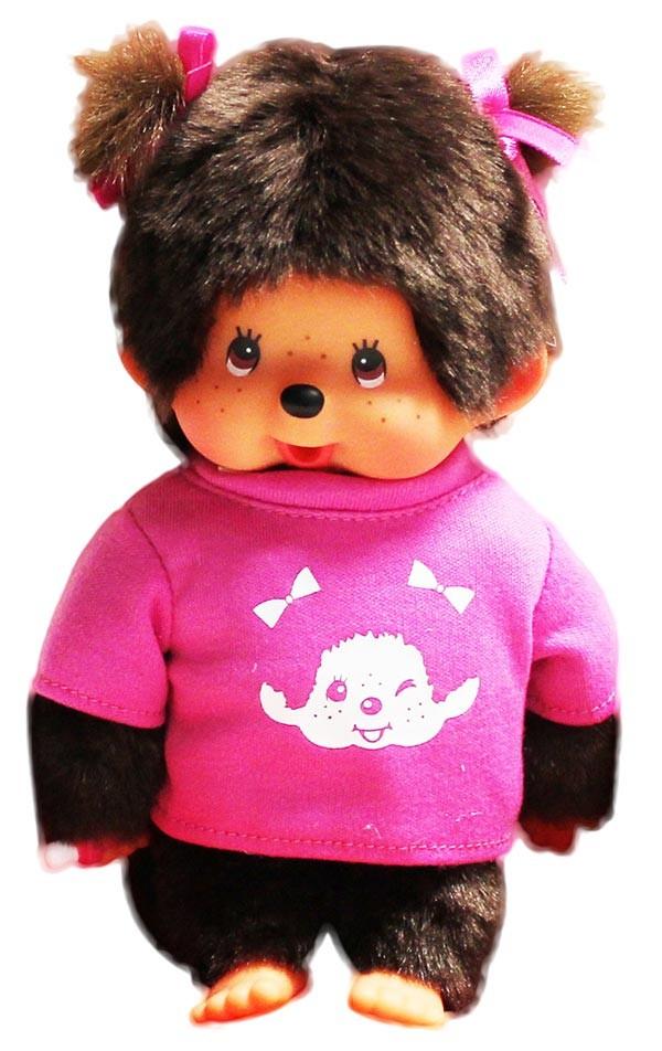 Monchhichi T-shirt fille ou garçon - 20 cm : à partir de 23 €