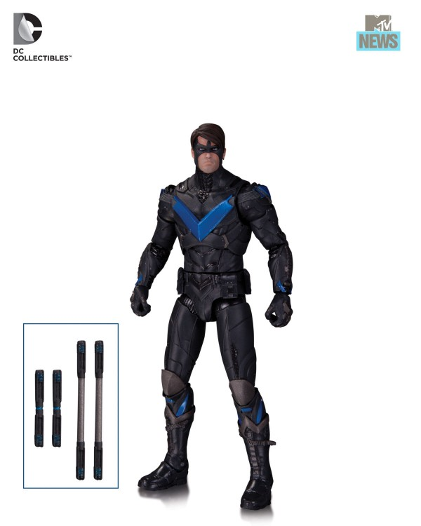 Nightwing Gordon RObin arhkam Knight DC COllectibles