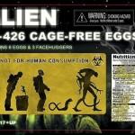 Alien : le packaging boîte d'oeufs par NECA