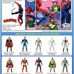 Amazing Heroes Action Figures le backcard
