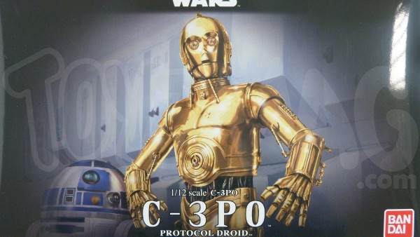bandai model kit star wars C3PO 1