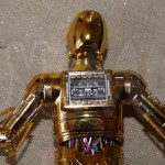 bandai model kit star wars C3PO 8
