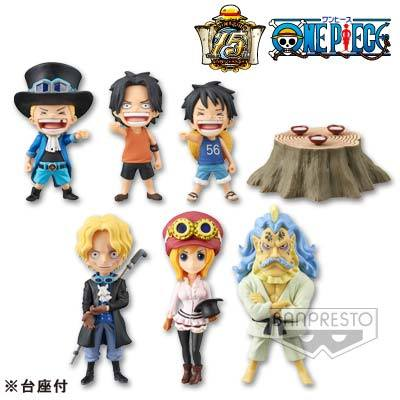 ONE PIECE WORLD COLLECTIBLE FIGURES - THE HISTORY OF SABO