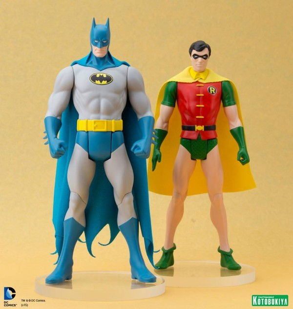 DC Comics ROBIN Batman Super Powers ARTFX+ Statue.
